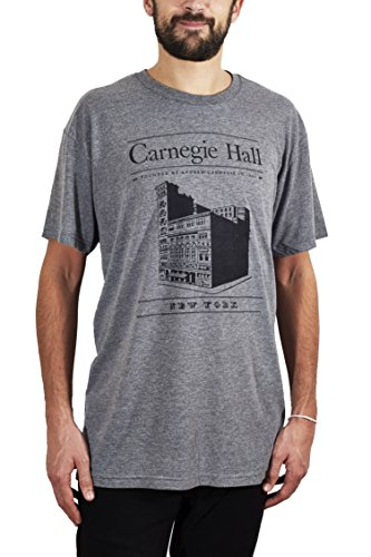 Grey Carnegie Hall Building T-shirt (Building Tee)