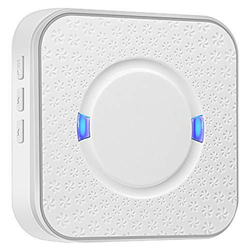 SODIAL Ding Dong Ac 90v-250v 52 Chimes 110db Wireless Doorbell Receiver Wifi Doorbell Camera Low Power Consumption Indoor Bell US Plug
