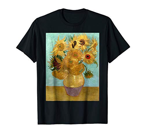 The Sunflowers T Shirt - Painting by Vincent Van Gogh