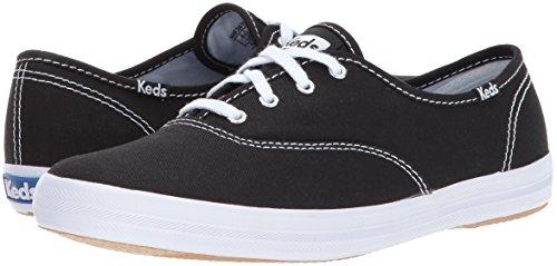 Champion Black Canvas Sneaker Canvas Schuhe Damen Core Champion Keds cRwq0FYx