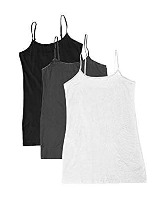 Active USA Basic Women's Basic Cami Tank Top