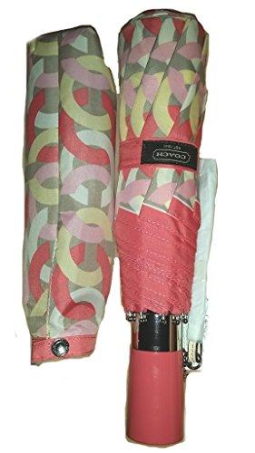 COACH Kristin Chain Link Umbrella - Silver/Multi - 64042 by Coach