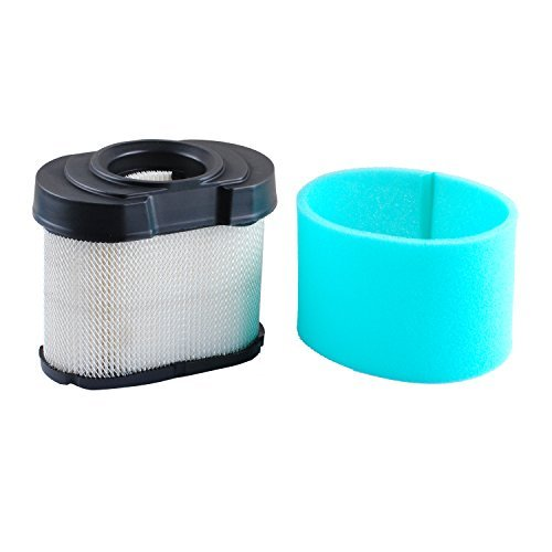 Poweka 792105 Air Filter for Briggs Stratton 4163206 Ariens John Deere MIU11515 GY21057 Gravely 5405H 4233 Ariens 21544800 Gravely 21544800 with Pre Filter