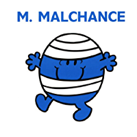 Monsieur Malchance (Collection Monsieur Madame) (French Edition)