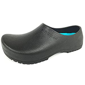 MEADA Men's for Work Tin NAM 38160204 Clog Slip Resistant Shoe Note : Sizes Run Small Order one Size up.