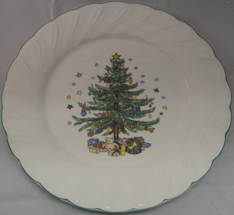 Nikko Happy Holidays Dinner Plate