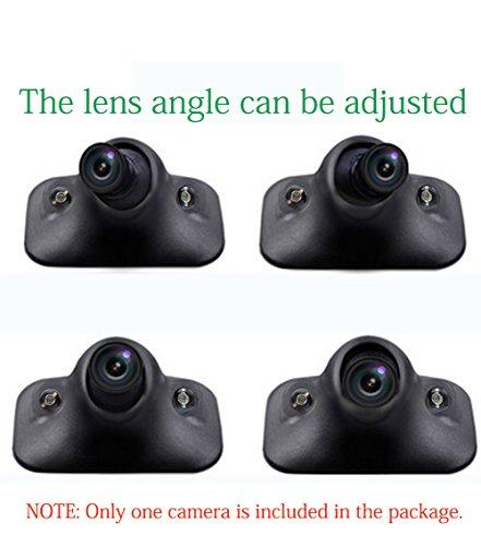 Greenyi Car Blind Spot Side View Camera Kit Infrared Leds
