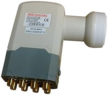 Mix Digital 40 mm MD-1 Super High 0.1dB Single Universal LNB