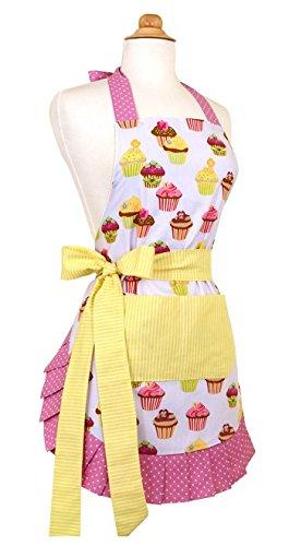Flirty Aprons Women's Original Frosted Cupcake Apron