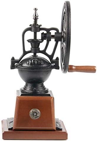 LJXWH Tragbare Kaffeemühle Vintage Handmühle Kaffeemühle Keramik Bewegung Nicht springen Bohnenmühle schnell kann im Café westlichen Restaurant Bar verwendet Werden