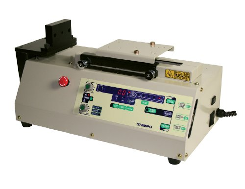 Shimpo FGS-100PVL Vertical Programmable Motorized Test Stand with LED Display, 110lbs Capacity, 0.19