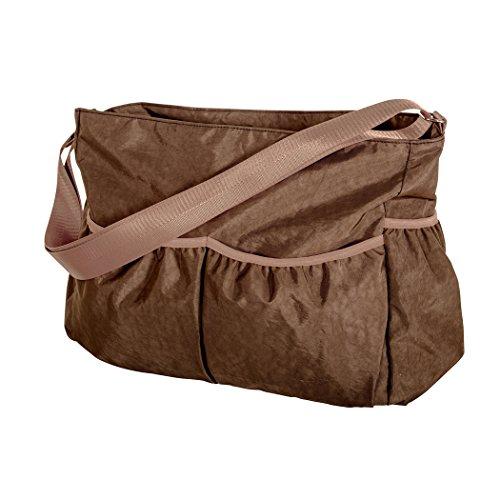 Trend Lab Brown Crinkle Diaper