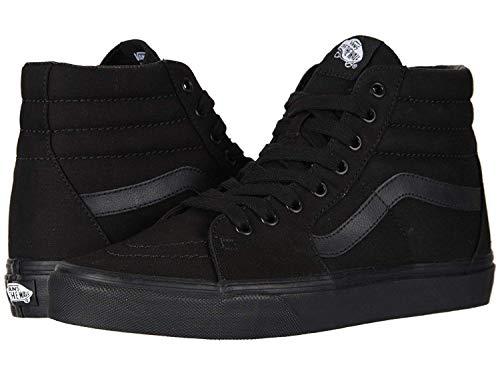(Vans SK8 Hi Black/Black Black./ Black,Size 5.5 Women/4 Men)