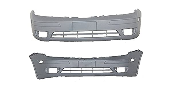 New Bumper Cover for Ford Focus FO1000572 2005 to 2007 Front