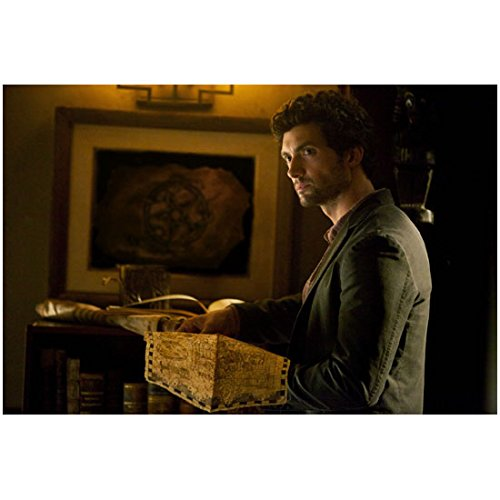 The Vampire Diaries David Alpay Reading Map as Atticus Shane 8 x 10 inch - St Atticus