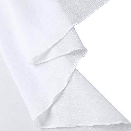 Ballet en Dancewear Tutu Blanc Jupe Robe iixpin Femme de Patineuse Danse de Mousseline Tulle Confortable Gymnastique Soire Noeud Mini Asymtrique vTwEwgq
