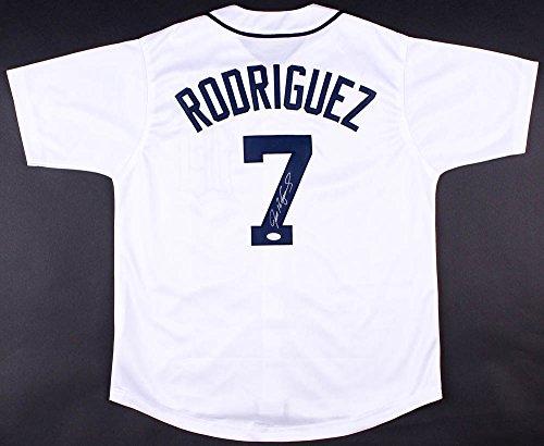 Ivan-Pudge-Rodriguez-Signed-Detroit-Tigers-Jersey-JSA-COA-MLB