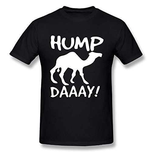 Mhdmhd Men's Hump Day 100% Cotton Prints Casual Short Sleeve Tee