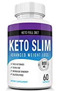 Keto Pills from Shark Tank - Weight Loss Supplement - Best Keto Diet Pills - Burns Fat Fast - Boost Energy and Metabolism - 60 Capsules
