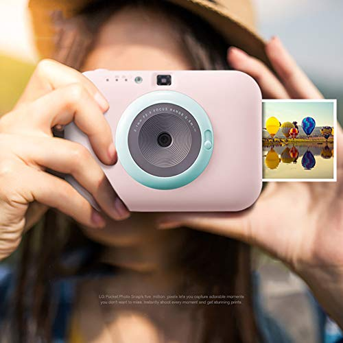 SFXYJ Instant Photo Printer,Mini Portable Pocket Color Wireless+Camera Function,Pink by SFXYJ (Image #2)