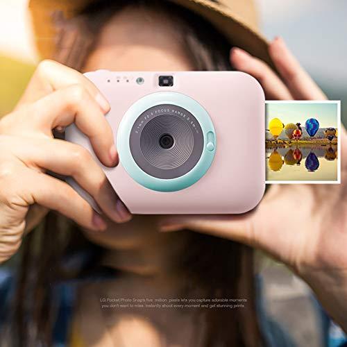 SFXYJ Instant Photo Printer,Mini Portable Pocket Color Wireless+Camera Function,Blue by SFXYJ (Image #3)