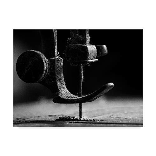Trademark Fine Art Element Sewing Machine by Johanes Januar, 24x32-Inch, by Trademark Fine Art