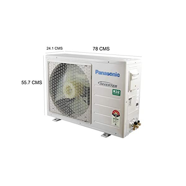 Panasonic 1 Ton 5 Star Wi-Fi Inverter Split AC (Copper, CS/CU-NU12WKYW, White, Powered by IoT, Voice Control)