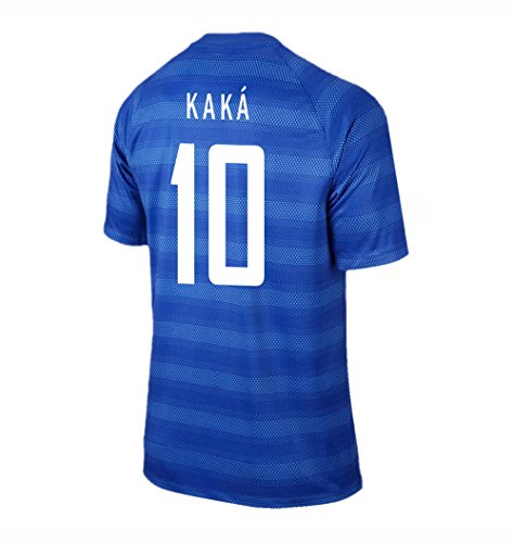 Kaka #10 Brazil Away Soccer Jersey YOUTH. for sale  Delivered anywhere in USA