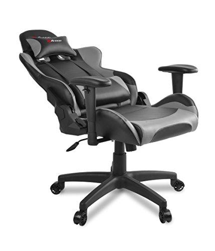 Arozzi verona v2 sedia da gaming nero grigio 50 x 55 x for Sedie design verona