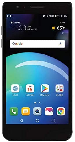 LG Phoenix 4 AT&T Prepaid Smartphone with 16GB, 4G LTE, Android 7.1 OS, 8MP + 5MP Cameras - Black WeeklyReviewer