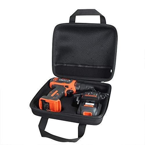 Anleo Hard Travel Case for BLACK+DECKER 20V MAX Cordless Drill/Driver (LD120VA) 1