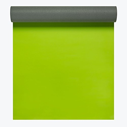 Gaiam Athletic Yoga Series 2gripMAT Xtra-Large Mat, Green, 5mm