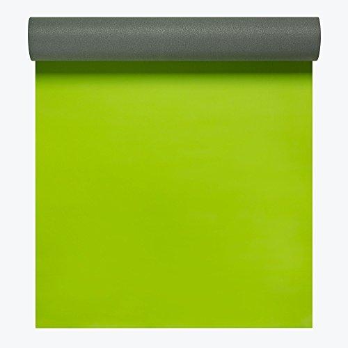 Gaiam Athletic Yoga Series 2gripMAT Xtra-Large Mat, Green, 5mm