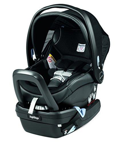Peg Perego Primo Viaggio Nido Car Seat with Load Leg Base, Licorice