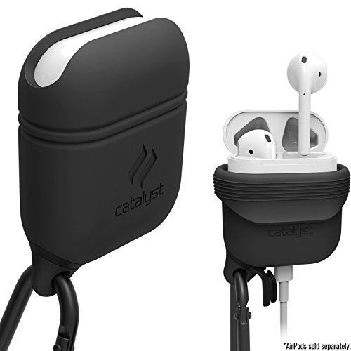 Catalyst Premium Quality Waterproof Shock Resistant Case for Apple AirPods (Slate Gray)