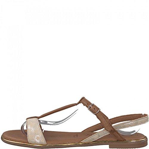 28146 Braun Sandals Back Sling Women''s Tamaris 74wqa0n