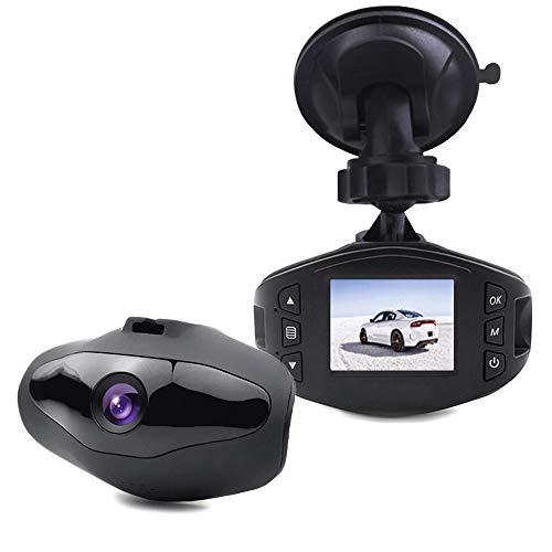 Mini High-end Car Dash Cam,Miya Full HD 1080P Car Dash Cam 1.5 Inch LCD Display Car DVR Camera Recorder with Wide Angle WDR Support G-Sensor Night Vision Loop Recording Parking Monitoring