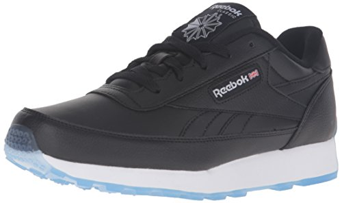 Black Men's Renaissance Shoes (Reebok Men's CL Renaissance Ice Fashion Sneaker, Black/White/A Ice, 12 M US)