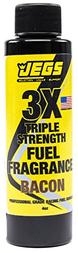 JEGS 63626 Fuel Fragrance Cooked Bacon Scented 4 oz. Bottle Safe for All Interna