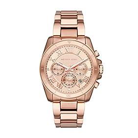 Michael Kors Women's Brecken Rose Gold-Tone Watch MK6367