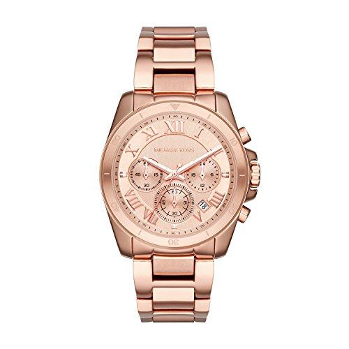 Michael Kors Women's Brecken Rose Gold-Tone Watch -