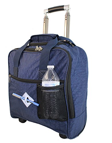 (New BoardingBlue Allegiant Air Rolling Free Personal item Under Seat (Navy))