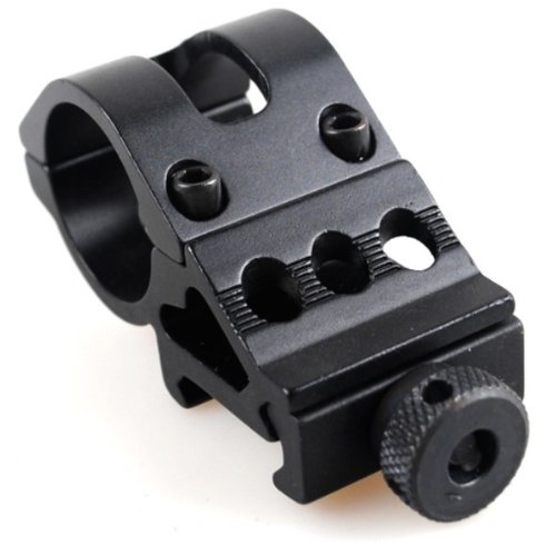 Tactical 30mm Flashlight Offset Weapon Picatinny Mount by Ade Advanced Optics