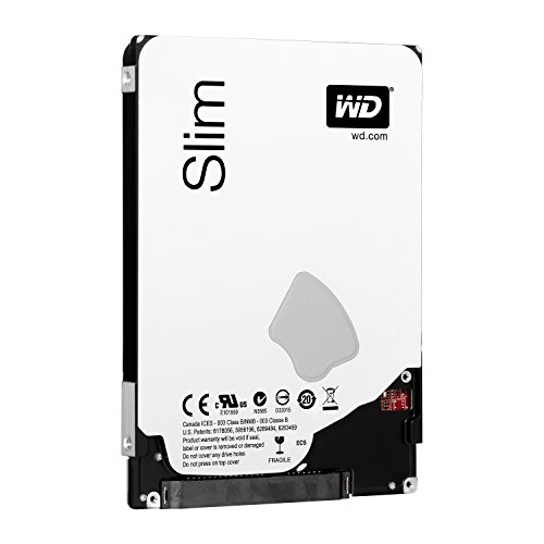 WD Blue 500GB Mobile Hard Disk Drive - 5400 RPM SATA 6 Gb/s 7.0 MM 2.5 Inch - WD5000LPVX by Western Digital