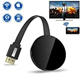 Wireless Display Dongle, 1080P Portable TV Receiver, WiFi HDMI Display Adapter for Big Screen, Support Miracast DLAN Airplay, Compatible with iOS/Android/Pixel/Nexus/Mac/Windows