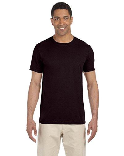 (Gildan Adult Softstyle 45 oz T-Shirt - Dark Chocolate - 3XL - (Style # G640 - Original Label))