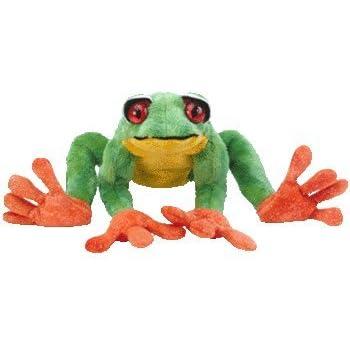 Amazon.com  TY Beanie Baby - PANAMA the Tree Frog  Toys   Games ae88290e2b3