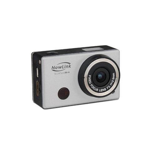 Câmera SPORT FULL HD 8MP 1080P Wifi FS101 Newlink