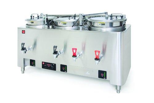 Grindmaster-Cecilware PB-8303E PrecisionBrew Barista Series 3-Liner Coffee Urn, Pump Style