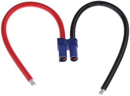 バナナプラグ 10AWG EC5バッテリー メス コネクタ アダプター 変換コネクタ 約5.5mm